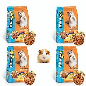 Minino Yum - Thức ăn cho Mèo (có thể dùng cho mèo cảnh hoặc chuột cảnh mọi lứa tuổi )