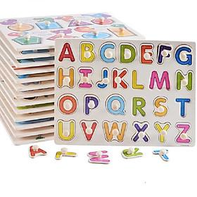 Combo 2 bảng có núm học chữ và số - TDR1064