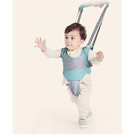 Đai tập đi đa năng an toàn cho bé 2 tư thế (màu xám)