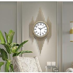 Đồng hồ phù điêu/đồng hồ handmade trang trí treo tường cao cấp phong cách Bắc âu DH-DH2017