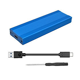 Vỏ Ổ Cứng Di Động NVME M.2 (Cổng Type C 3.1 ASM2362 m.2 USB3.1 PCIE)