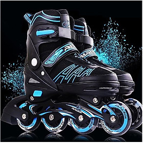 Giày trượt Patin Papaison A3 có 4 bánh phát sáng dành cho bé từ 3 tuổi đến 15 tuổi là trò chơi lành mạnh giúp bé tăng cường sức khoẻ tốt hơn