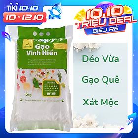 Gạo Quê Dẻo Vừa Đỗ Quyên (5kg)