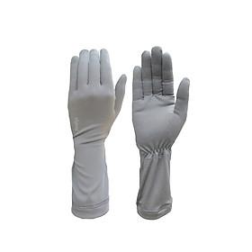 Găng tay nữ chống nắng UPF50+ Zigzag xám GLV00302