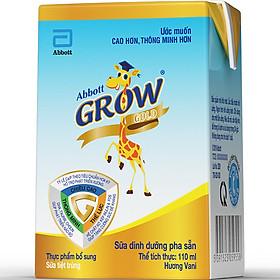 Thùng 36 Sữa Nước Cho Bé Abbott Grow Gold 110ml - Tặng Balo Hươu-1
