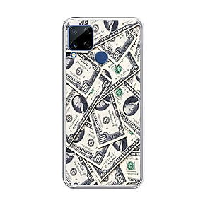 ỐP LƯNG DẺO CHO ĐIỆN THOẠI REALME C15 - 0355 DOLLAR02 - HÀNG CHÍNH HÃNG