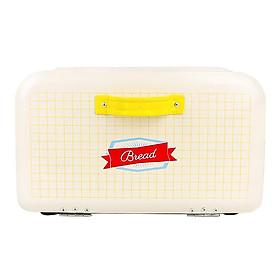 Bánh Mì Hộp cho Bếp Thiết Kế Retro Sắt Bánh Mì Thùng 30.5x21.5x21.5cm