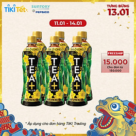 Lốc 6 Chai Trà Ô Long Tea+ Plus (350ml x 6 Chai)