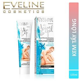 Kem tẩy lông Eveline chiết xuất khoáng chất biển dành cho mọi loại da Active Epil 125ml