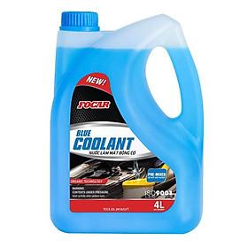Nước làm mát động cơ ô tô FOCAR Blue Coolant 4L (Màu xanh)