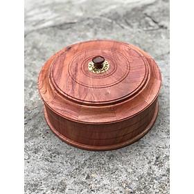Hộp đựng bánh kẹo, mứt tết gỗ hương cực đẹp, sang trọng