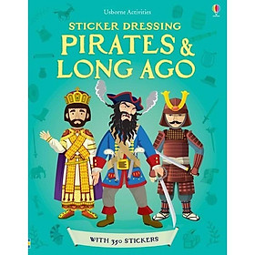 Usborne Sticker Pirates and Long Ago
