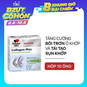 Collagen thuỷ phân tăng độ linh hoạt của khớp Doppelherz Collagen Max (Hộp 10 ống)