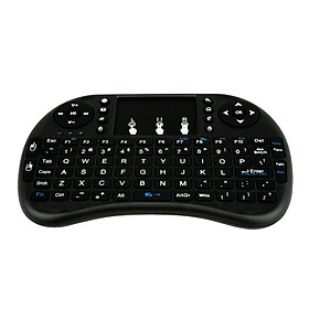 Bàn Phím Không Dây Bluetooth Cho TV Kiêm Chuột Mini Box , Android Box CBVN  PKCB SF43 -Hàng Chính Hãng