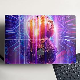 Skin dán hình Avenger x02 cho Surface Go, Pro 2, Pro 3, Pro 4, Pro 5, Pro 6, Pro 7, Pro X