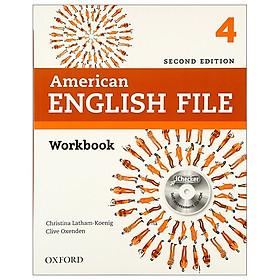 American English File: Level 4: Workbook - 2nd Edition