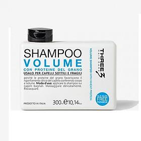 Dầu gội tăng phồng tóc Faipa Three3 Volume shampoo 300ml
