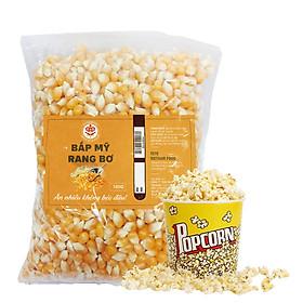 [Chỉ Giao HCM] 1 KG Bắp Mỹ Rang Bơ, Bắp Nỗ Rạp Chiếu Phim TETE Food