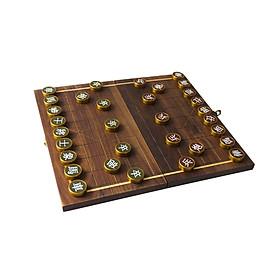 Bộ Cờ Tướng Cờ Đồng Cao Cấp // Premium Brass Chinese Chess