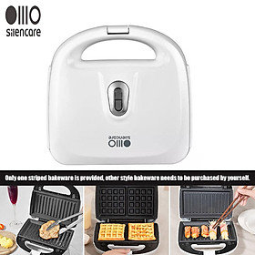 Silencare Multifunctional Household Breakfast Machine Sandwich Frying and Roasting Machine Waffle Light Food Cooking