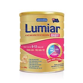 Sữa bột Lumiar Baby 900g – sản phẩm dành cho trẻ tăng cân, tiêu hoá tốt