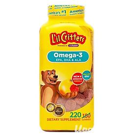 Kẹo Gấu L'il Critters Omega - 3