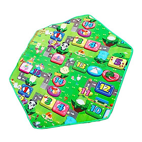 Cartoon Pattern Double Sided Baby Play Mat Crawling Floor Carpet Game Mat
