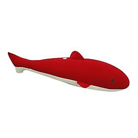 Gối Ôm Hình Con Cá 7 Hometex - Đỏ (80 x 25 cm)