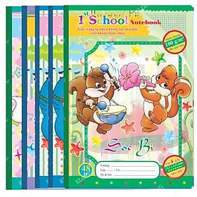 5 quyển Vở 4 ô ly Chích Bông 48 trang - TP055