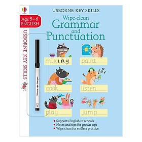 Usborne Usborne Key Skills Wipe-clean Grammar & Punctuation 5-6