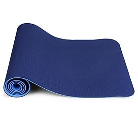 Thảm Tập Yoga TPE 2 Lớp PEAFLO Cao Cấp dày 6mm Kèm Túi