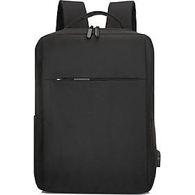 Balo đựng Macbook, Laptop 15.6 inch nhiều ngăn kèm cáp sạc ẩn