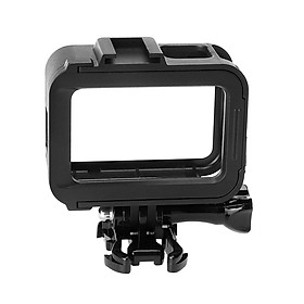 Protective Housing Frame Shell Mount Accessory for GoPro Hero 8 Black with Quick Movable Socket and Screw