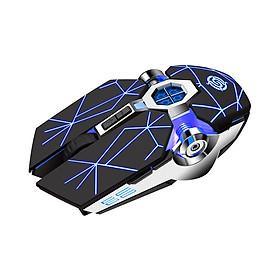 Chuột Không Dây Chuyên Game Pin Sạc Led 7 Màu Thiết kế siêu nhỏ gọn, hiện đại màu sắc ấn tượng Không dây sạc pin tiện ích - Chức năng sạc nhanh và tiết kiệm điện Wireless 2.4GHz - Tương thích nhiều dòng sản phẩm