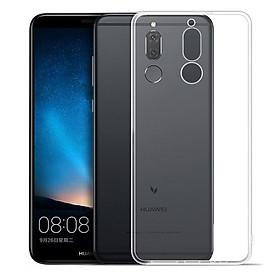 Ốp lưng dẻo silicon Ultra Thin dành cho Huawei Nova 2i / Huawei Honor 9i chỉ mỏng 0.6 mm có gờ bảo vệ Camera (trong suốt) - Hàng chính hãng