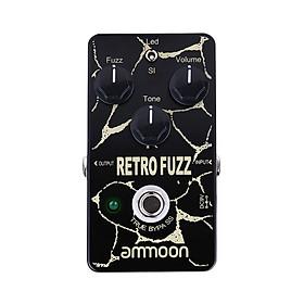 ammoon RETRO FUZZ Analog Fuzz Guitar Effect Pedal 2 Modes True Bypass Aluminum Alloy Shell