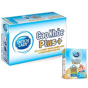 Thùng 48 Hộp Sữa Uông Pha Sẵn Dutch Lady Cô Gái Hà LanCao Khỏe Plus+ (48X110ml)