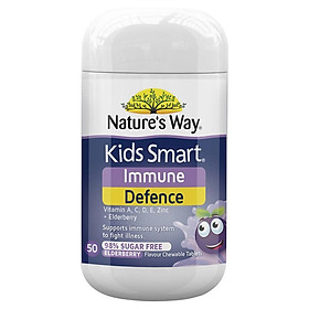 Nature's Way Kids Smart Immunity Defence 50 Chewable Tablets