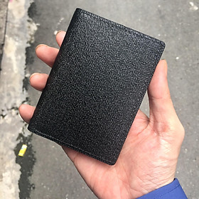 Bóp/ Ví Đựng Thẻ ATM ( Card Holder) Da Bò Ép Vân Saffiano Cao Cấp, Thiết Kế Tinh Tế, Thời Trang v2 2020 - ORCO (Kích thước 11 cm x 8 cm)
