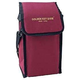 Túi Đựng Hộp Cơm Trưa Lót Giấy Bạc Giữ Nhiệt GOLDEN KEY GK-F330