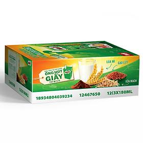 Sữa Lúa Mạch Nestlé MILO Bữa Sáng Thùng 36 Hộp x 180ml