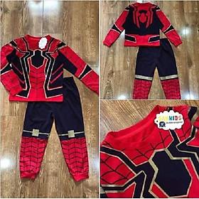 Quần áo người nhện Spiderman Size tới 40kg tặng thêm mặt nạ Người nhện