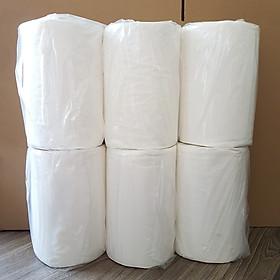 Combo 6 cuộn giấy lau bếp trụ đứng 500g/ cuộn, giấy lau bếp đa năng 2 lớp