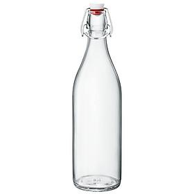 Chai Thủy Tinh Tròn Giara Bormioli Rocco - 1 Lít