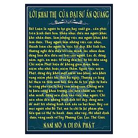 Tranh Phật Giáo Lời Khai Thị Của Đại Sư Ấn Quang 2661