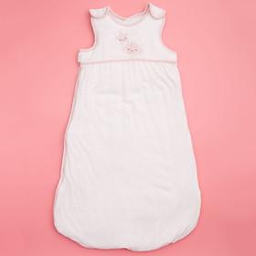 Túi ngủ 3 lỗ chất cotton lót bông ấm hình mây hồng  cho bé