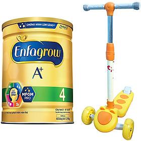Combo 2 Lon Sữa Bột Enfagrow A+ 4 1.75kg - Tặng Xe Scooter (Màu ngẫu nhiên)