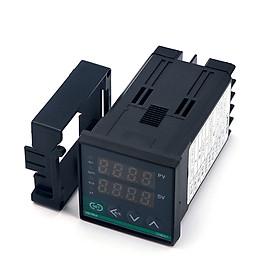 CHB401FK02-V*AN Digital Display Intelligent Temperature Controller PID Algorithm 0-400℃ SSR Output