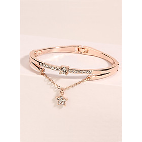 Lắc tay vòng tay nữ ngôi sao đính đá