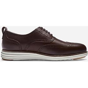 Giày đế cà phê kết hợp da bò Mỹ ShoeX Cafein Midsole Oxford